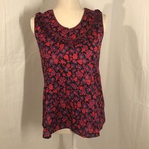 MARC By Marc Jacobs floral career style tank